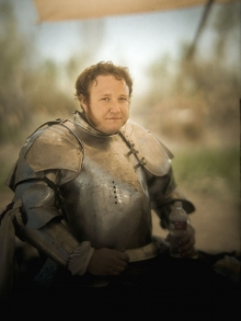 Jason Armstrong.  Jouster.